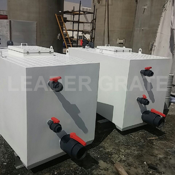 GRP Fish transport tank